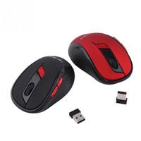 ratón vista al por mayor-HXSJ X40 2.4GHz Wireless Optical Game Mouse con receptor USB para Windows Vista Mac OS