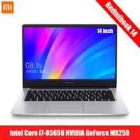 laptop core i5 venda por atacado-Original Xiaomi Redmibook 14 Laptop Intel Core i5-8265U / -8565U NVIDIA GeForce MX250 8GB 256GB / 512GB Notebook Ultrafino