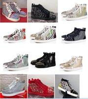 yaz düğün ayakkabıları erkekler toptan satış-2019 Yeni Orijinal Tasarımcı Zincir Reaksiyon Kırmızı Alt Sneaker Erkekler Rahat Ayakkabılar Lüks kadın yumuşak yaz Eğlence spor Moda parti düğün