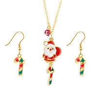 Wholesale silver necklaces online - Cute Q Version Santa Claus Necklace Pendant Santa Claus Is Sending A Gift Necklace To A Favorite Person And Best Friend Christmas Gift