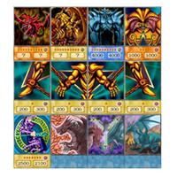 Wholesale yu gi oh cards for sale - Group buy 238pcs Yu Gi Oh Muto game card group Anime Style Cards Dark Magician Exodia Obelisk Slifer Ra Yugioh DM Classic Orica Proxy Card Childhood