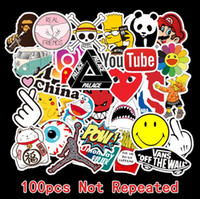 Wholesale laptops sell resale online - 2020 New Hot Selling Cool Bicycle Car Doodles Cool Stickers For Luggage Trolley Case Laptop Skateboard Guitar Waterproof Doodle Stickers