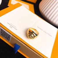 ingrosso gioielli di diamanti onyx-Anelli da uomo firmati gioielli anelli da uomo gioielli bague B BLOSSOM anello in oro 18 carati con diamanti onice oro 2019 accessori moda di lusso anelli