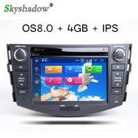 ingrosso radio di dvd del bluetooth-DSP Android 9.0 Octa Core 4 GB RAM 32 GB ROM lettore DVD per auto Toyota RAV4 RAV 4 2006 - 2012 GPS WIFI Bluetooth fotocamera RDS Radio