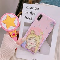 Wholesale iphone cases sailor for sale - Group buy YunRT Kawaii Japan Anime Sailor Moon Phone Case For iPhone Puls S Puls X XS Cover Soft Silicone Blu ray Back Cover Coque
