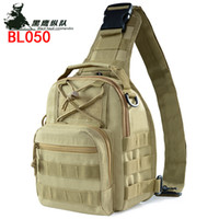 Wholesale bag black across online - Oxford military camouflage bag camouflage field sports small chest single shoulder oblique across outdoor tactical bag chest hanging