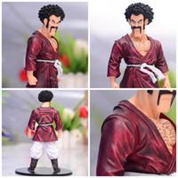 Wholesale toy mr resale online - Dragon Ball Anime Decoration Doll WCF World Champion Mr Satan Model Toy PVC Simple Anti Wear Exquisit Hot Sale qx I1