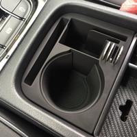 Wholesale skoda interior resale online - ABS Car Center Organizer Armrest Water Cup Storage Box Replacement for Skoda Kodiaq GT Interior Accessories