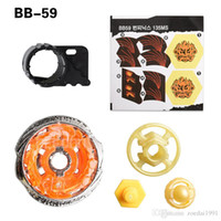 Wholesale interesting toys for kids resale online - Metal Beyblade Fusion D BB59 beyblades Without Launcher Spinning Top gyro Interesting Toys Gifts For Kids with original box