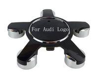 audi a4 ступицей оптовых-4шт для Audi Ступица колеса Cap центр крышки 135mm ABS колпак Логотип Обложки для Audi Sline A3A4LA5A6LA8LQ3Q5Q7