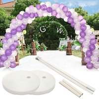 1set Large Arch Ballon Stand Framework Base Kit For Wedding Birthday Party Di Decoration T190712
