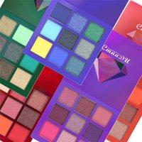 neueste make-up großhandel-Heißer Verkauf neuester heißer Make-up Marken-Schönheits-Palette 9 färbt Minilidschattenpalette 5 Artstern-Farben-Lidschatten DHL-Verschiffen