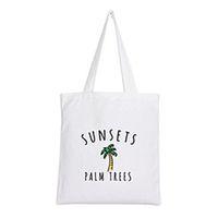сумка с зеленой тележкой оптовых-Fashion Women Girls Handbags Reusable Canvas grocery Green Shopping bag Webshop Eco Foldable Shopping Cart Trolley