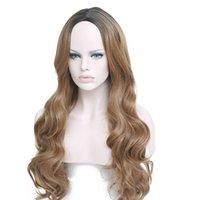Kaufen Sie Im Großhandel Lange Dunkelbraune Haare Schlagen 2019 Zum