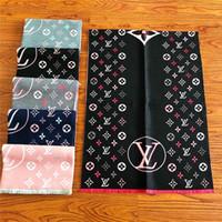 diseños de envoltura de cabello al por mayor-Moda mujer cinta bufanda de seda hermosa mezcla diseño niñas pañuelo banda para el cabello bolsa asa envuelve bufandas de cuello pequeño