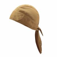 Wholesale black headscarf headband for sale - Group buy Quick Dry Pure Cycling Cap Head Scarf Summer Men Running Riding Bandana Headscarf Ciclismo Pirate Hat Hood Headband New