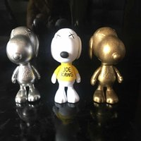 Wholesale hand made figures for sale - Group buy Kaws snoopy dolls hand made model toys Original Box KAWS Action Figure model decorations toys gift