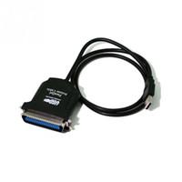 paralelos de área de trabalho venda por atacado-Novo USB para Impressora 36 Pin Paralelo IEEE 1284 1994 Adaptador de Cabo de Impressora Fedex DHL livre