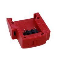 49 batterie großhandel-USB-Ladeadapter Gadget USB-Anschlüsse Ladeadapter Adapter für Milwaukee 49-24-2371 M18 Lithium-Ionen-Akkus