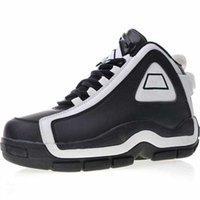 tepe aydınlatması toptan satış-Kutu Tasarımcı ile Hakiki Deri Eski Rahat Basketbol Ayakkabıları yapmak Orijinalleri 96 OG Grant Hill II EVA Yastıklama Işık Açık Çalıştırmak Sneakers