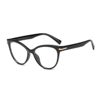 4c4f856c571 clear fashion personality frames UK - Mincl Fashion cat women myopia glasses  frame personality trend ladies