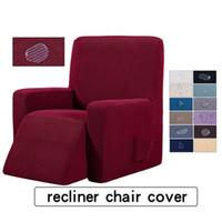 ingrosso copertine da tavolo in poliestere-Reclinabile Fodera con tasche sofà copertura della sedia reclinabile copertura Stretch Mobili Protector Slipcove Anti-Slip Fodera