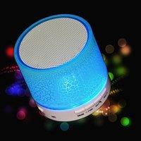 orador da música do carro usb venda por atacado-1 pcs Excelente Sem Fio Bluetooth A9 Portátil Subwoofer USB Music Box Speaker Altofalante Do Carro Sem Fio Bluetooth Speaker Elegante