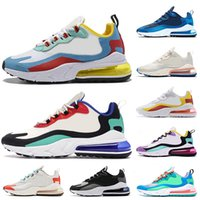 Wholesale discounted running shoes for women resale online - Discount For Women Mens React Running Shoes Bauhaus Right Violet Beige Hyper Jade Electro Green Optical Trainers Designer Shoes