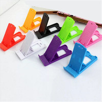 Wholesale plastic holder for tablets online – Universal Foldable Adjustable Stand Mini Holder Mount Cradle Compact Plastic Stand Desktop For iPhone X Galaxy S8 Cellphone phone Tablet
