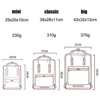 Wholesale bags chocolate resale online - Swedish fox student waterproof backpack men and women fashion style design bag junior high school canvas backpack brand sports handbag