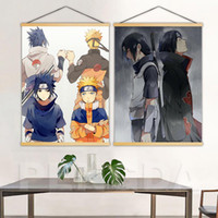 anime gehängt großhandel-Japanischen Anime Naruto Nordic Wand Poster Leinwand Scroll Hängen Malerei Home Print Moderne Kunst Dekor Modulare Bild Wohnzimmer