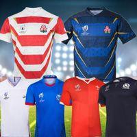 englisches trikot großhandel-JAPAN Rugby World Cup STARTSEITE COUPE DU MONDE DE 19 20 Englisch JERSEY 2019 2020 Welsh SCOTLAND Rugbytrikots maillot de rugby Samoa Taille