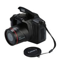 полный hd видеокамеры cmos оптовых-2018 профессиональная видеокамера HD 1080P Портативная цифровая камера 16X цифровой зум 20A Drop Shipping