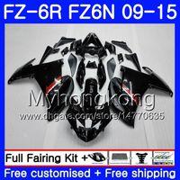 Wholesale black fz6r fairing for sale - Group buy Body For YAMAHA FZ6N FZ6 R FZ N FZ6R HM FZ R FZ R Glossy black HOT Fairings