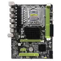 intel i7 cpu toptan satış-Anakart 1366 Intel X58 LGA1366 Soket B DDR3 ATX Çekirdek i7 ve Xeon CPU Sunucu İş İstasyonu Masaüstü Bilgisayar