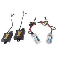 Wholesale hid headlamps resale online - 55W V Xenon HID Light Bulb Car Vehicle Headlight Ballast Headlamp Kit
