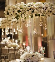 Wholesale terrarium candles wedding for sale - Group buy 12pcs cm Brand Hanging Tealight Holder Glass Candle Holder Globes Terrarium Wedding Candlestick Vase Home Hotel Bar Decor SH190924