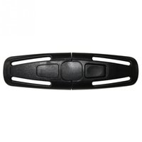 Wholesale nylon baby seat for sale - Group buy NEW Baby Safety Belt Fastener Seat Strap Belt Harness Chest Clip Buckle Safe Lock Children Plastic Nylon Car Accessories