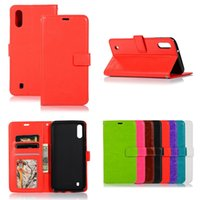 Wholesale xperia flip covers online – custom For Samsung Galaxy M10 M20 M30 A10 A20 A30 A40 A50 A70 Sony Xperia Huawei Y6 Y7 Y9 Crazy Horse Flip Wallet Leather Case Cover