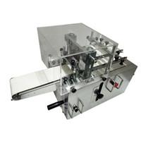 gefrorener schnitt großhandel-Automatische Edelstahl-Keksschneidemaschine Gefrorene Keksschneidemaschine Cranberry Walnut Equipment
