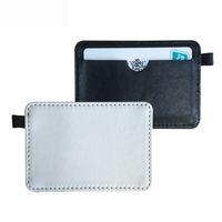otobüs kapakları toptan satış-Süblimasyon boş kart sahipleri çanta kılıfı otobüs veya banka kartı için Isı transfer baskı malzemeleri sarf 11 * 7 cm toptan