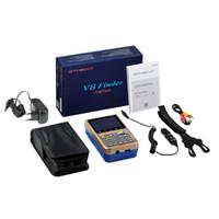 Wholesale dvb s2 finder for sale - Group buy Smart2019 V8 Gtmedia Meter Finder v hd Dvb s2 s2x Freesat