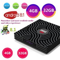 Wholesale andriod tv boxes resale online - M9S Y1 Android TV BOX GB GB RK3328 Quad Core K Set Top Box USB IPTV andriod tv box Media Player Better T95R HK1 MAX