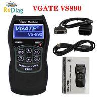 Wholesale obd2 scanner sale resale online - Hot Sale Vgate VS890 Car Diagnostic Scanner OBD2 Auto Code Reader Maxiscan VS890S ObdII Scanner VS Support Multi s Cars