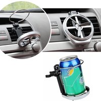 Wholesale bottles for drinking water for sale - Group buy Foldable Universal Beverage Drink Water Bottle Cup Holder Air Vent Bracket Stand Rack Mount For Car Auto Vehicle