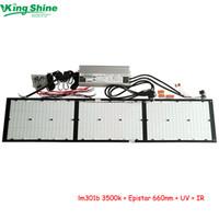 ingrosso epistar uv led-driver led HLG-320H-48B 320W V2 QB288 scheda quantistica led coltiva la luce hlg lm301b 3500k + Epistar 660nm + UV + IR per coltiva la tenda