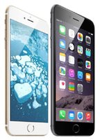 elma telefon kilidini açma toptan satış-100% Orijinal Apple iPhone 6 Artı Parmak Baskı Olmadan 5.5 Inç IOS 11 16 GB / 64 GB / 128 GB Yenilenmiş Unlocked Cep Telefonu