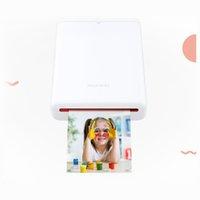 portable printer toptan satış-2019 Yeni HUAWEI Zink CV80 Cep Taşınabilir AR Fotoğraf Yazıcı Blutooth 4.1 300 dpi Mini Kablosuz Fotoğraf Yazıcı