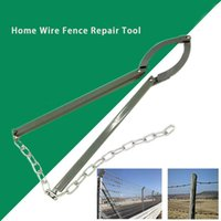 Wholesale wire for fencing for sale - Group buy Fixing Guardrail Wire Fence Repair Tool Outdoor Chain Hand Operated Pulling for Farm Garden
