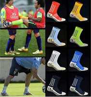 8d95623ef Wholesale trusox socks resale online - Football Socks Anti Slip Soccer Socks  men s football socks